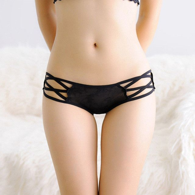 060b8f7ebc iMucci Women Sexy G-String Thongs Intimates Briefs Women Lace Underwear  Breathable Lingerie Summer Style Girls Straps Panties