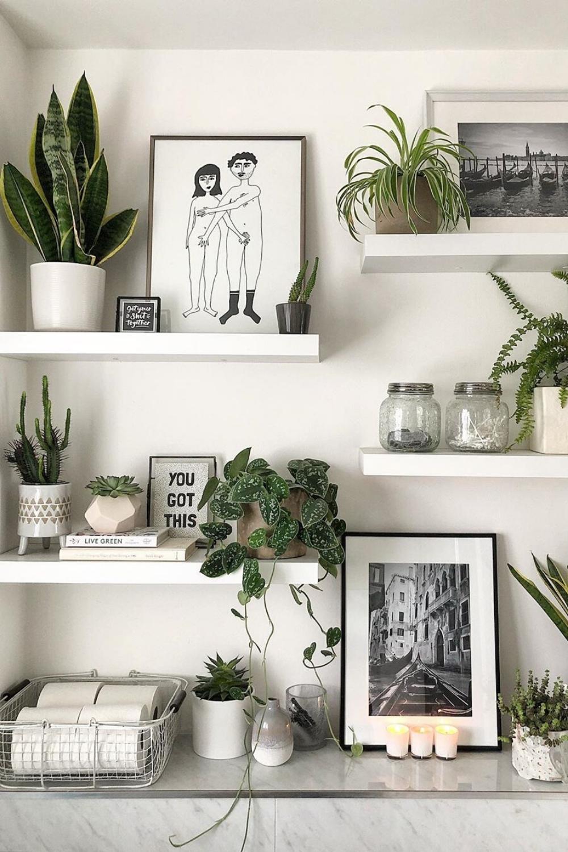 35 Houseplants Decor Ideas Houseplants Decor White Room Decor Shelf Decor Bedroom
