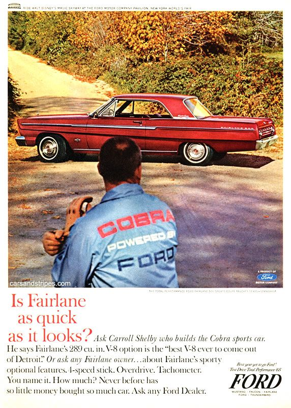 1965 Ford Fairlane 500 Sports Coupe - is Fairlane as quick