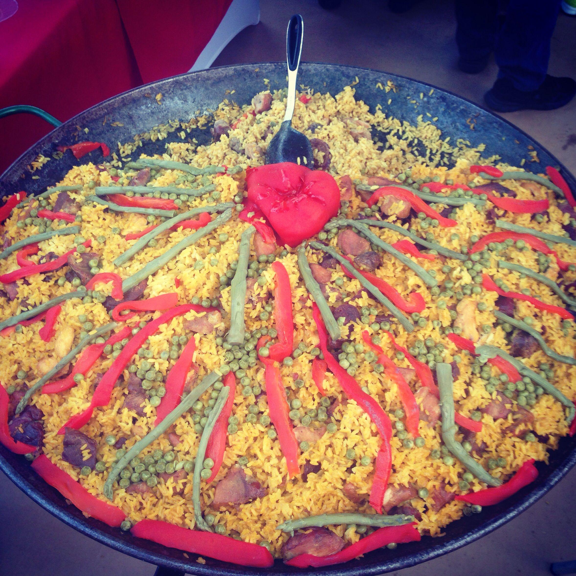 Paella criolla