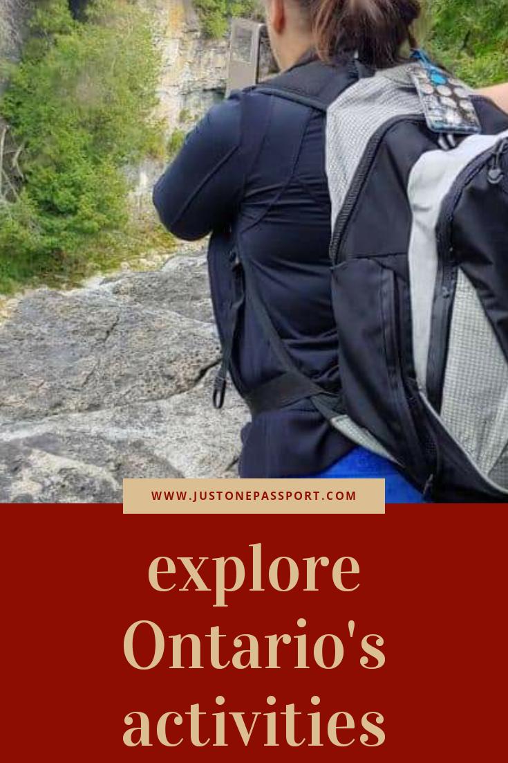 Explore Ontario's Activities in 2020 Adventure
