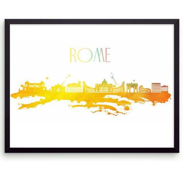 Rome wall art! Who want to cut Rome? I certainly do!:) | FREELY BRI ...