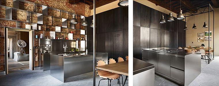 Cucine professionali in acciaio Abimis | Kitchen/Cucine ...