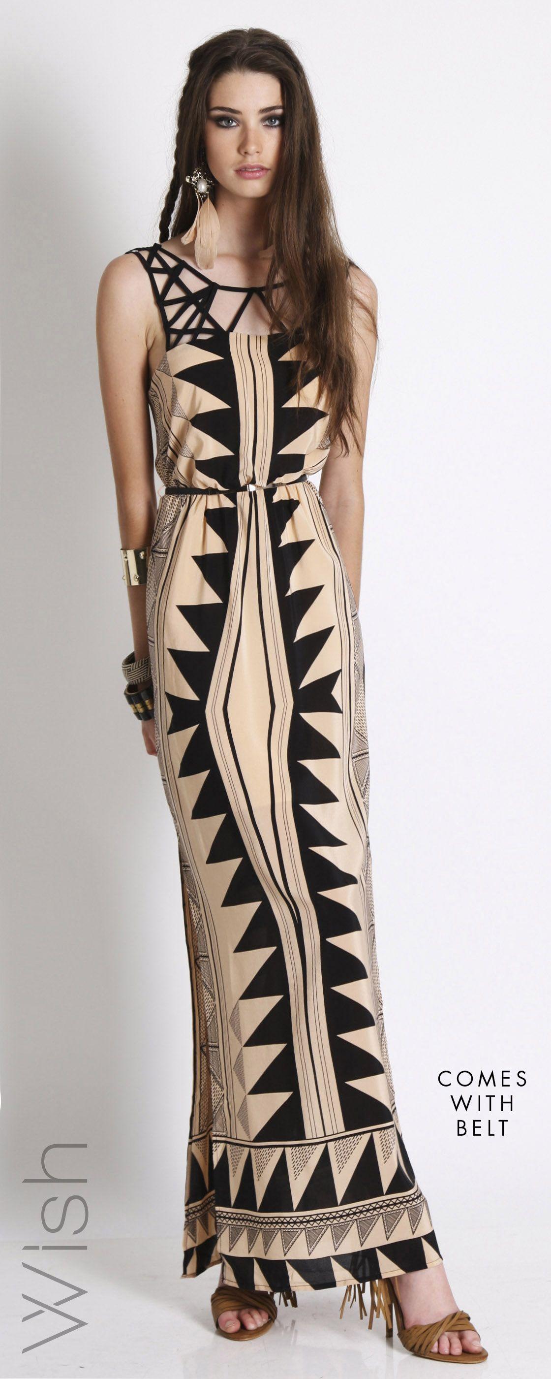 WISH Clothing Excalibur Maxi Dress Shop online | Beautiful Maxi ...