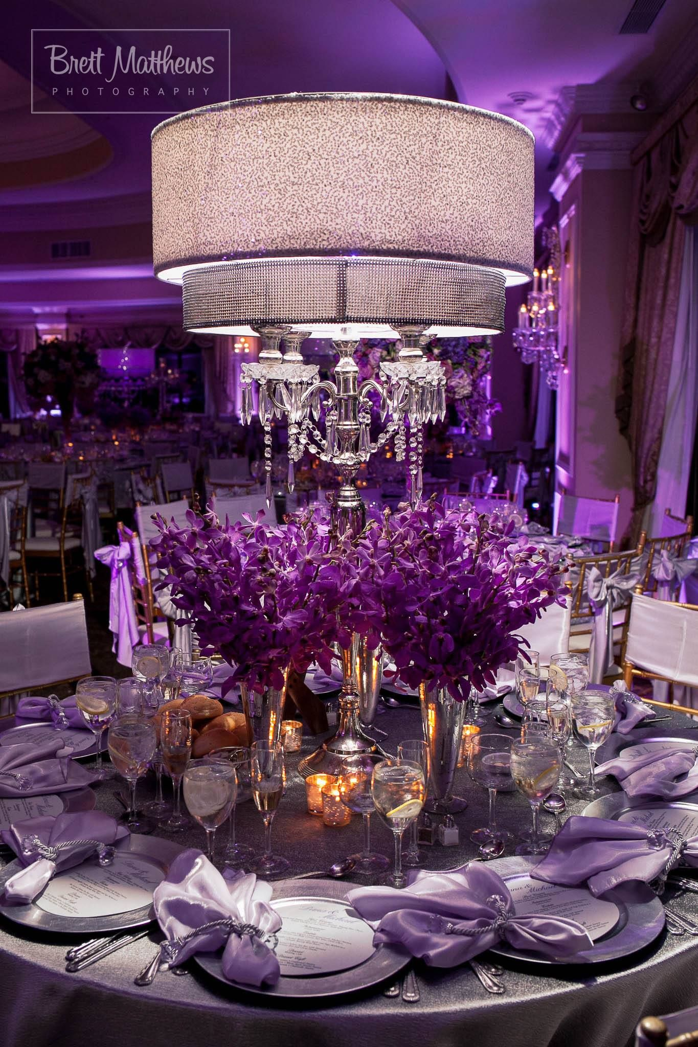 Wedding decoration ideas purple  Another Purple Decor  Fabulous Events u Weddings u Full Service