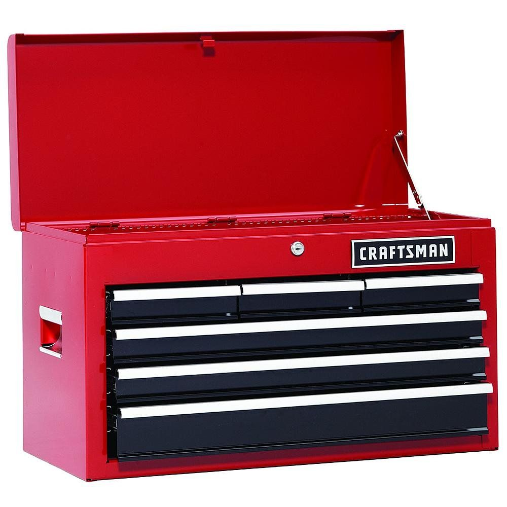 26 In 13drawer Heavyduty Ball Bearing 3pc Combo Is Perfect For Your Home Garage Or Small Work Shop This 3 Piece Set Includes Steel Tool Box Storage Tool Box