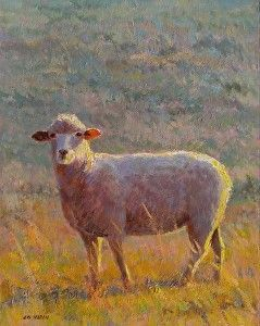 Warm Light by Ed Hatch in the FASO Daily Art Show