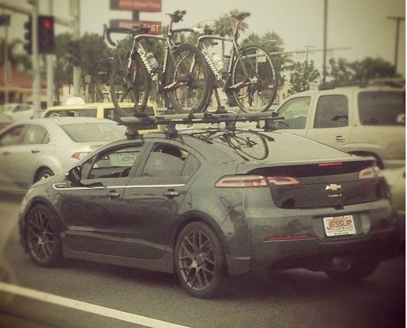 I Really Like Their Wheels Found A Set At Http Shop Tlcentral Com Store Pc 2011 Chevrolet Volt 1 25 Stealth Chevy Volt Chevrolet Volt Roof Mount Bike Rack