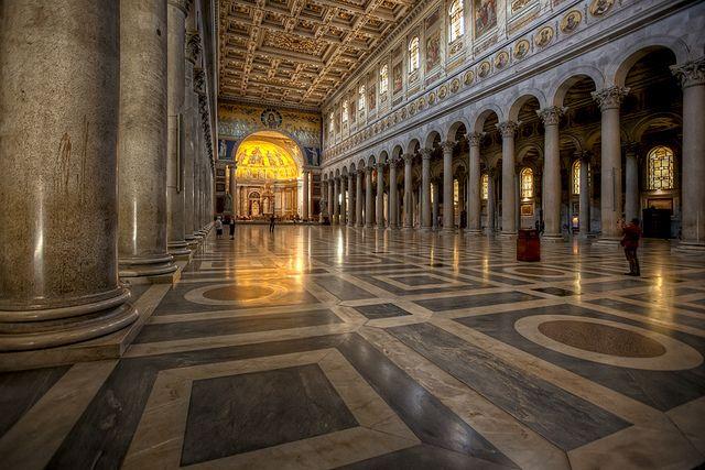 San Paolo Fuori Le Mura Architecture History San Unesco Sites