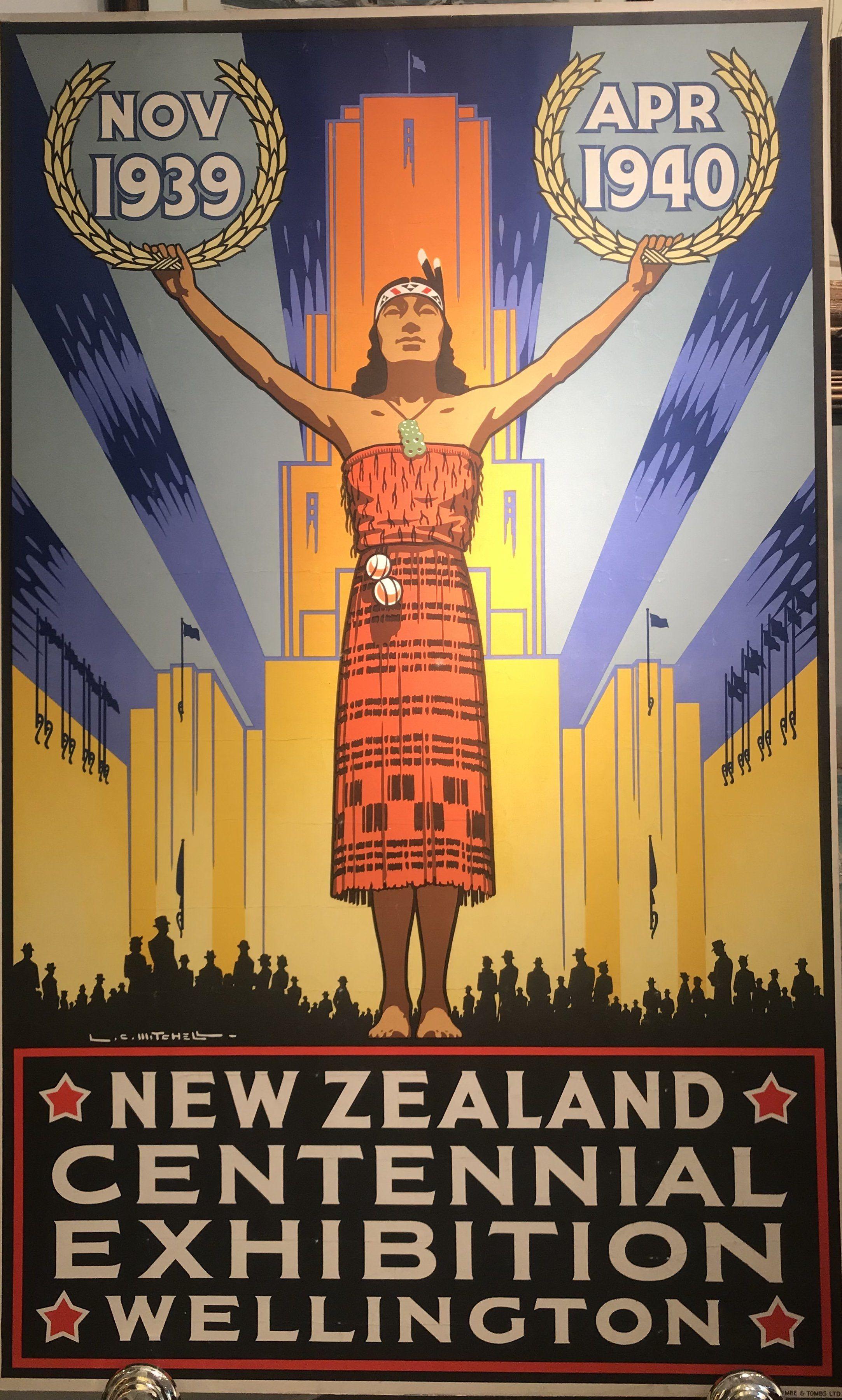 "Art New Zealand Travel Poster Vintage Rare Hot New 12x18/"" TR114"
