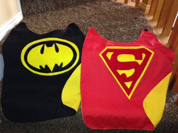 Superhero reversible childrens cape with mask  by homemadeheroes4u, $25.00