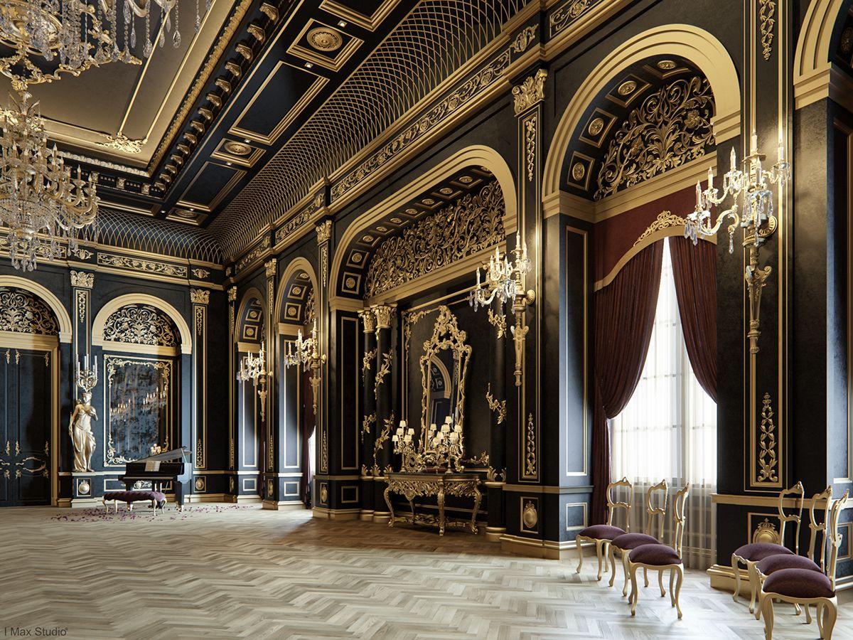 Best Blackum Mixing Between Gold Black Color In Luxury 400 x 300