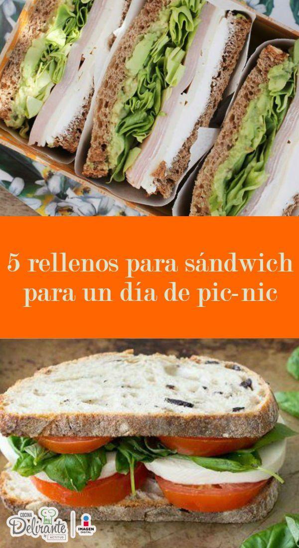 5 rellenos para sandwich perfectos para un da de picnic