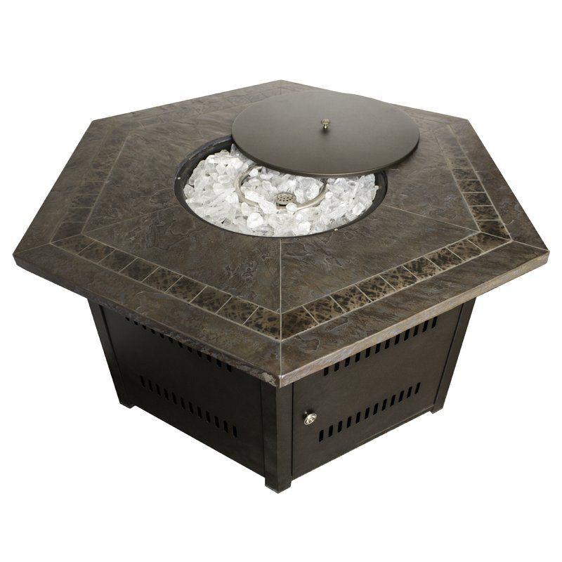 AZ Patio Heaters Propane Fire Pit Table U0026 Reviews | Wayfair
