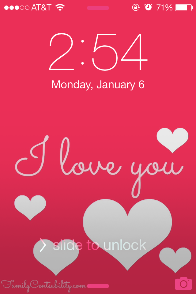 Valentines Day Cell Phone Wallpapers