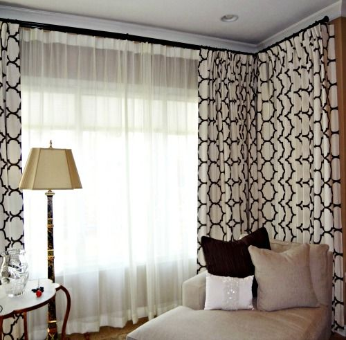 window wall drapes design excellent pattern black and with sofa interior also color good ideas exterior single curtain crema large