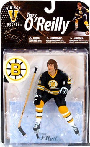 Nhl Legends Series 8 Terry O Reilly Action Figure By Mcfarlane Toys 24 99 The Boston Bruins Right Winger Displayed A Balance Of G Sports Sports Picks Bruins