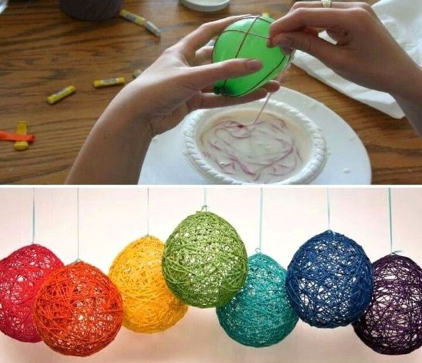 Tutos boules de laine suite art Pinterest Cenas de cumpleaños