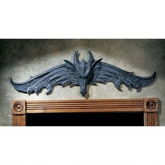 The Hardwick Dragon Wall Pediment With Images Dragon Wall