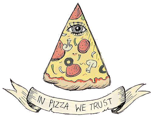 in pizza we trust  Tumblr  za za za  Pinterest  Pizzas