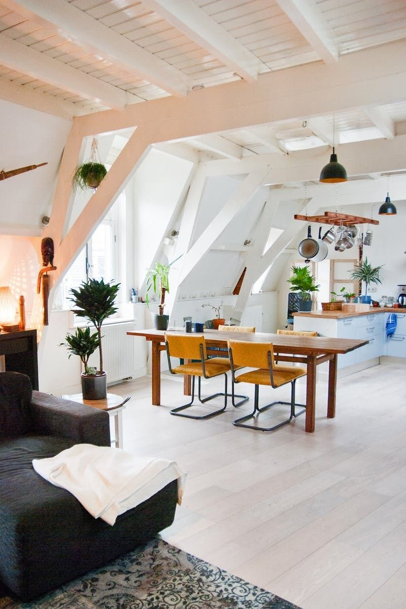 Establish A Cleaning Schedule That Finally Works For Your Home And Your Life Home Living Decor Attic Apartment
