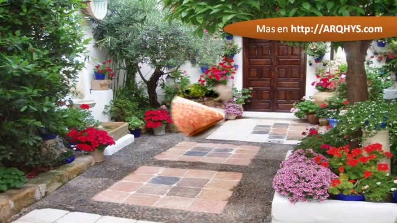 Decoracion de patios exteriores jard n pinterest for Jardines patios exteriores