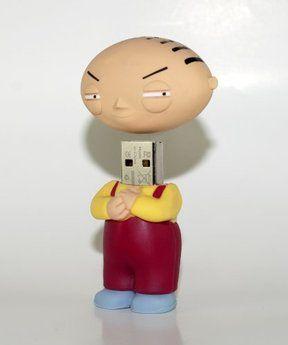 Family Guy Stewie 16GB USB Flash Drive FG-STEWIE/16GB. Want it? Own it? Add it to your profile on unioncy.com #gadgets #tech #electronics #gear