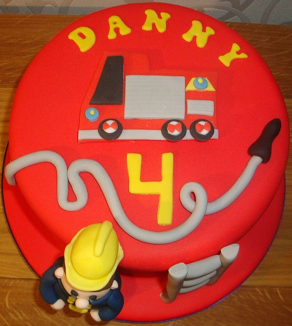 Fireman Birthday Cakes Birthday Ideas Pinterest Fireman