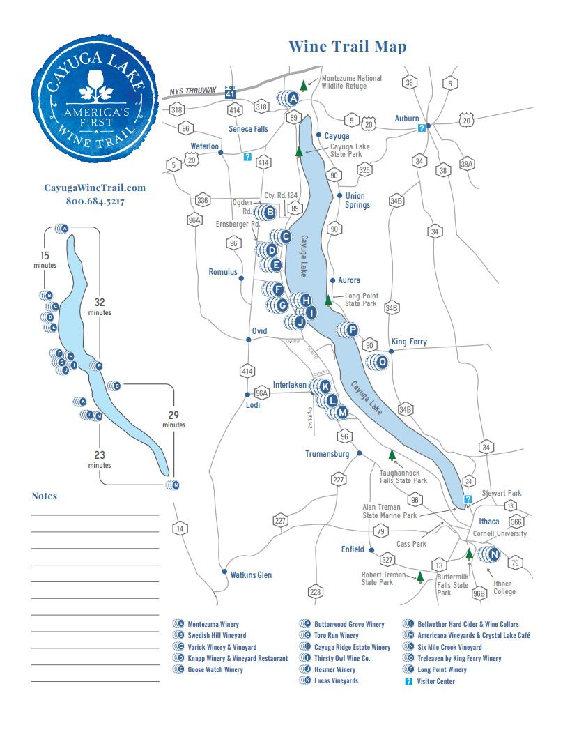 finger lake wineries map Finger Lakes Wine A Day In New York S Wine Country Wine Trail Finger Lakes Wine Tours Lake finger lake wineries map