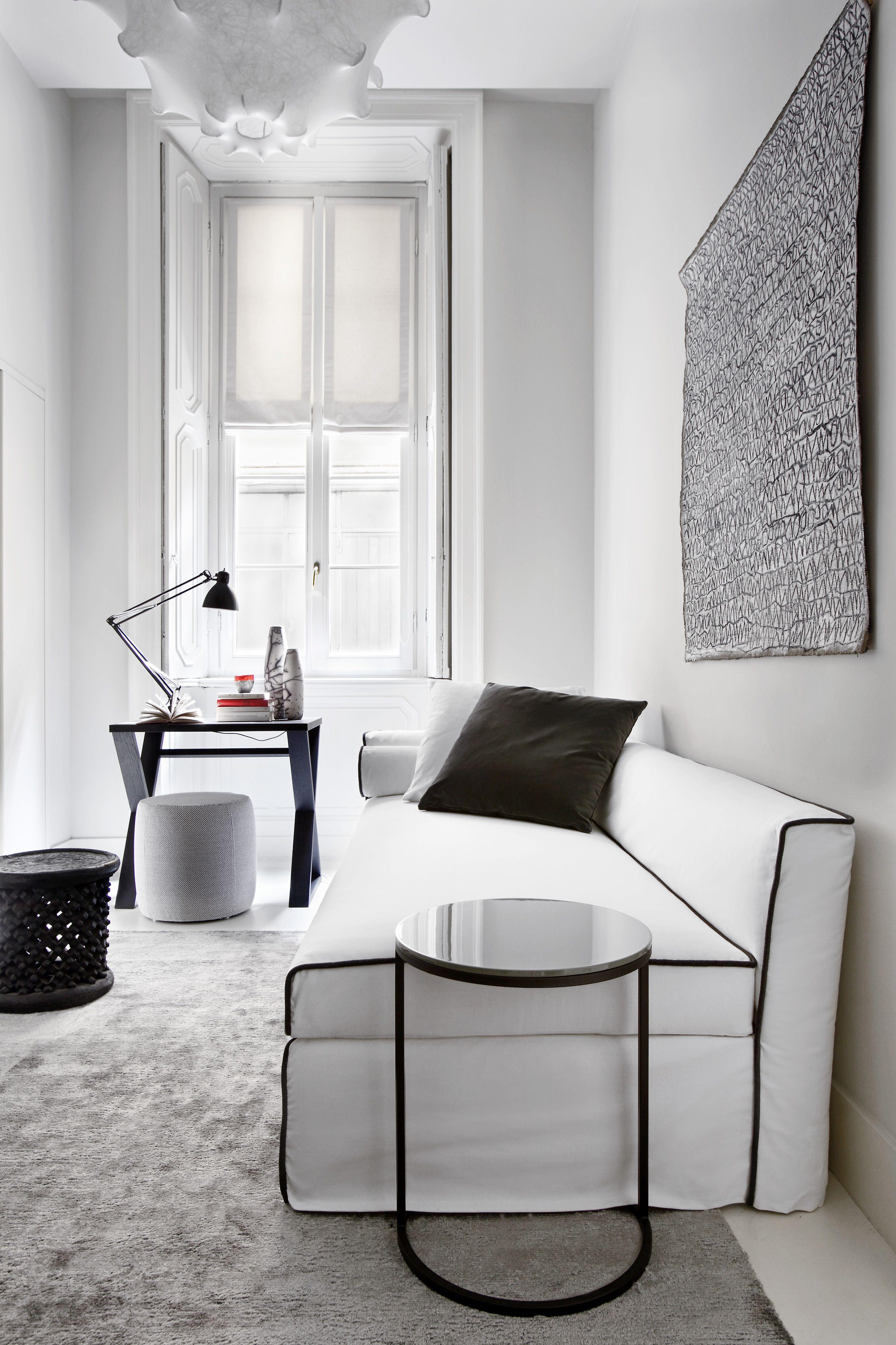 MERIDIANI I LAW sofa bed I PECK low table I CRUISE writing desk I CHARLOT ottoman