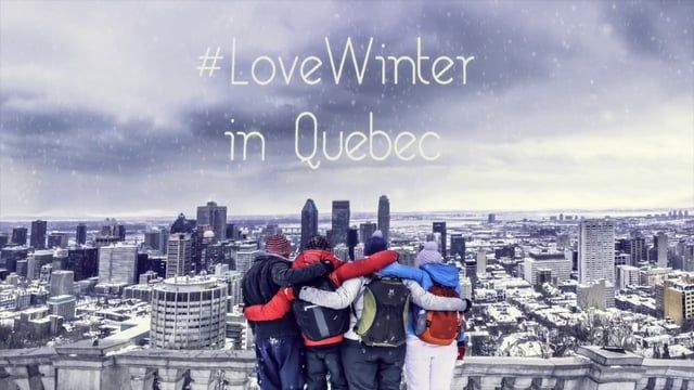 #LoveWinter Blogger campaign in Quebec, Canada | Video by StoryTravellers