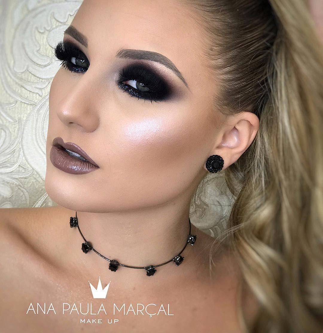Resultado de imagem para maquiagem ana paula marçal