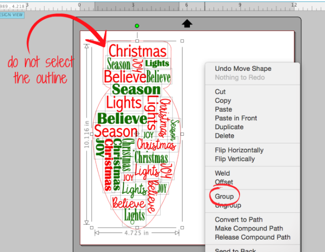 how to put shape behind text in word