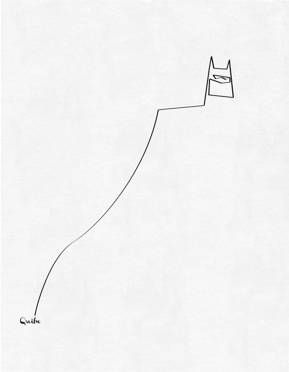 One Line Batman