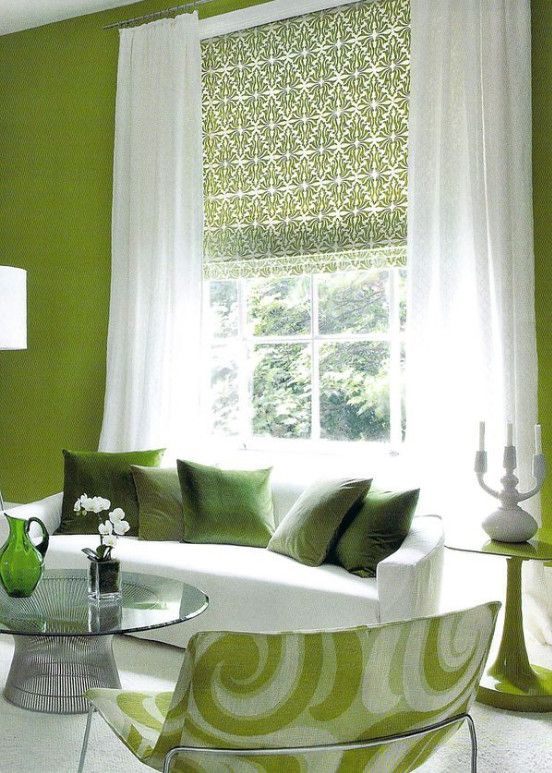 Roman Shades And Sheer Curtains In 2019 Patterned