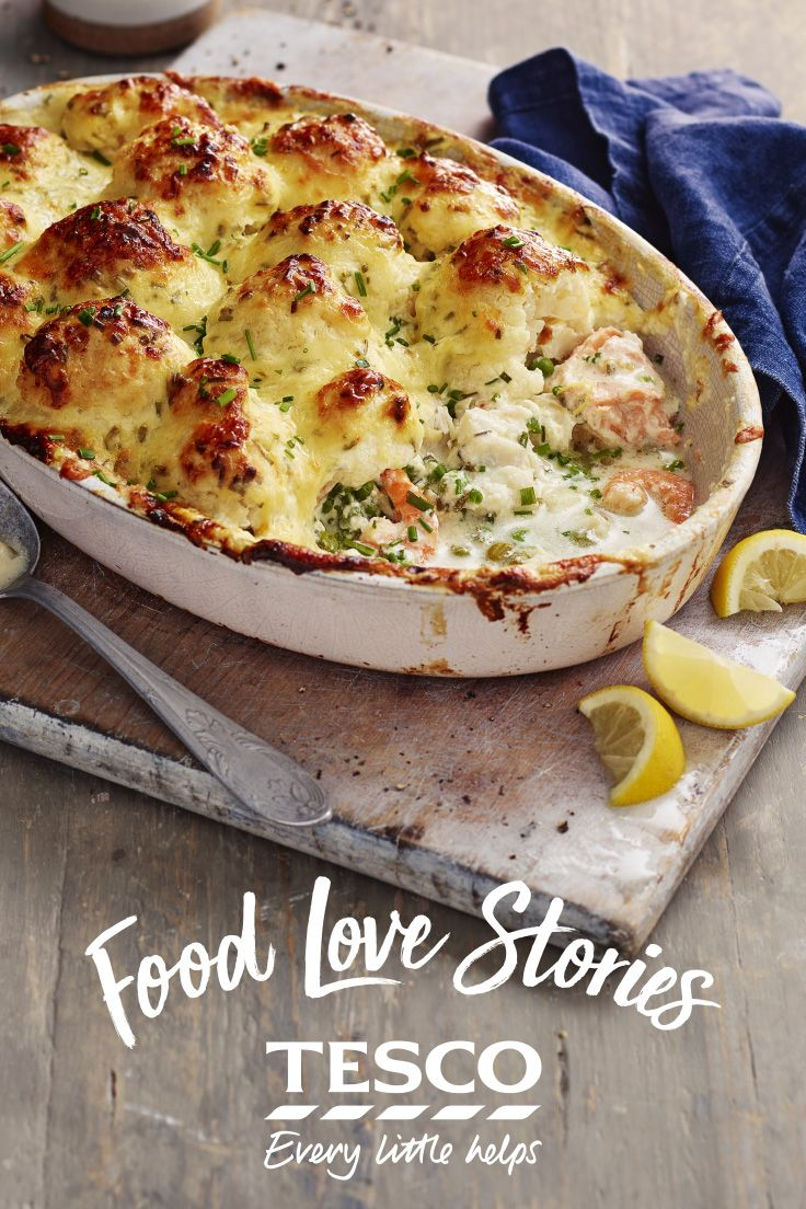 how to make salmon fish pie