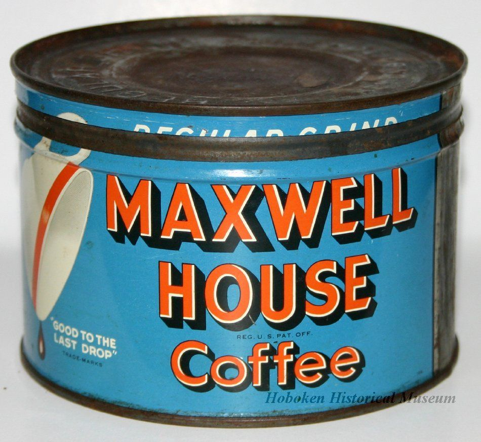 Can For Maxwell House Coffee 1950 1960 I Love Looking At