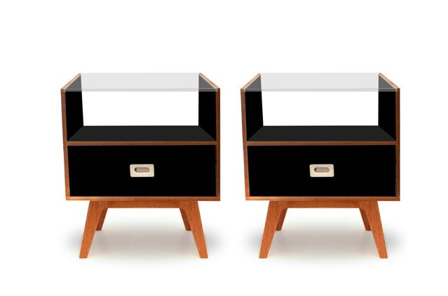 Retro Style Bedside Tables