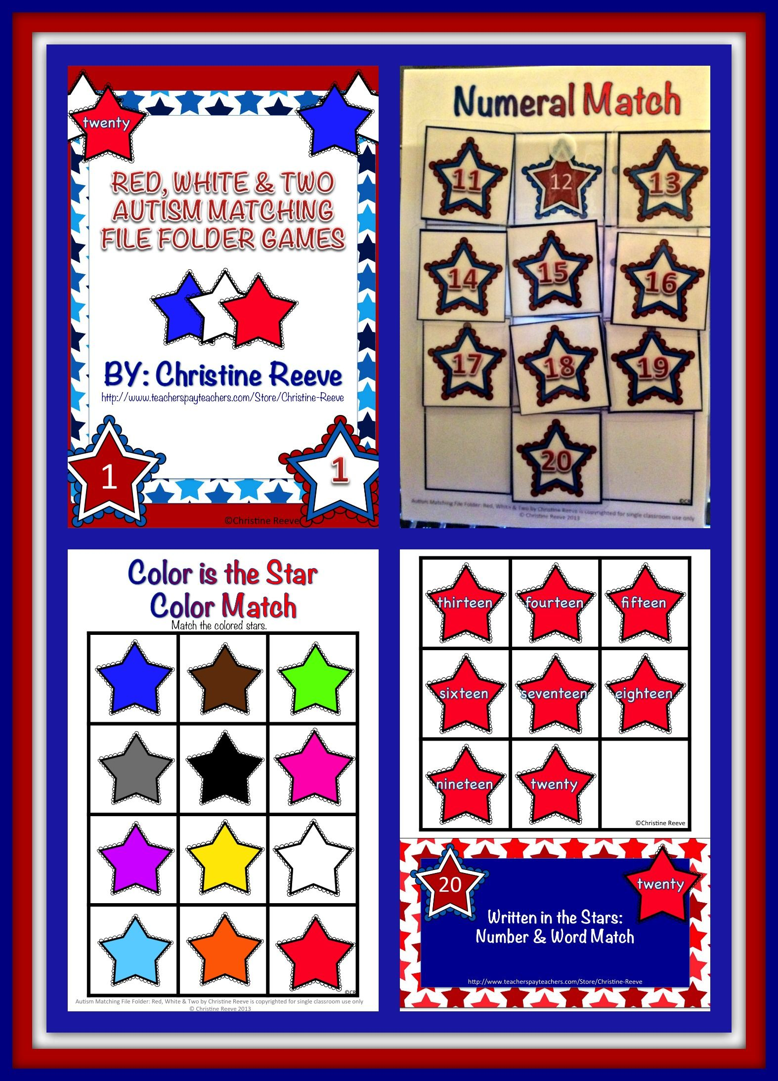 Pin On Autism Classroom News With Christine Reeve Store