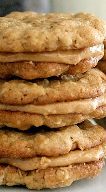 Halfway to Heaven Peanut Butter Cookies - Broma Ba