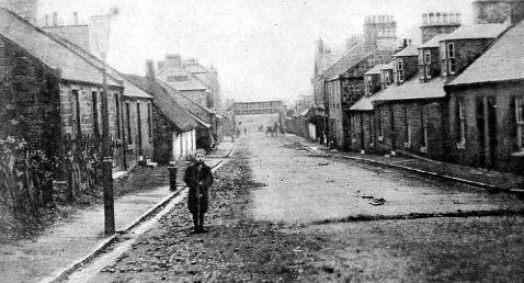 Old photograph of Auchinleck, Scotland