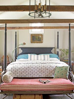 Nice country bedroom.
