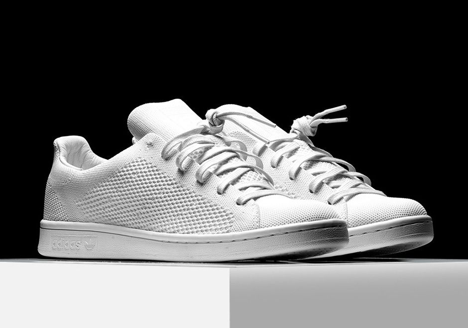 ab266eae8c41f4  sneakers  news Triple White adidas Stan Smiths Release In Pure Primeknit