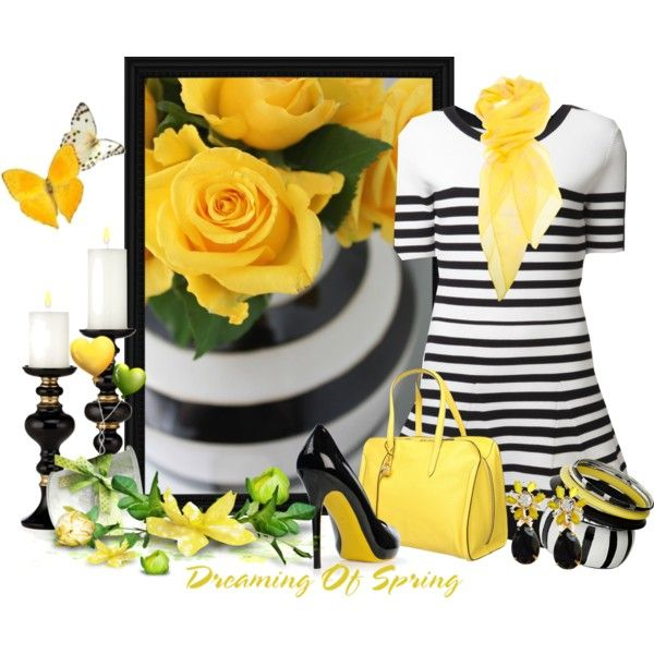 Sunny Love, created by signaturenails-dstanley on Polyvore