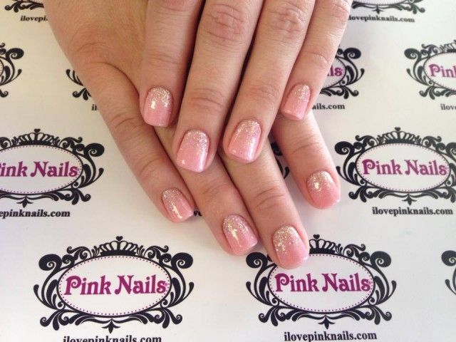 Pink Moscato Rock Star Fade Nails