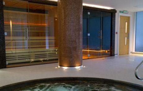 Bespoke Frameless Glass Sauna & Steam Room Doors, Tylo Frameless ...