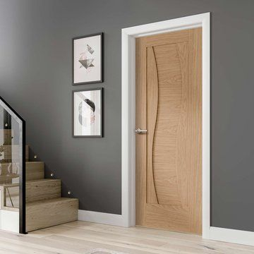 Florence Oak Fire Door Is 1 2 Hour Fire Rated And Prefinished Lifestyle Image Oakdoor Florencedoor Oak Fire Doors Bedroom Door Design Fire Doors
