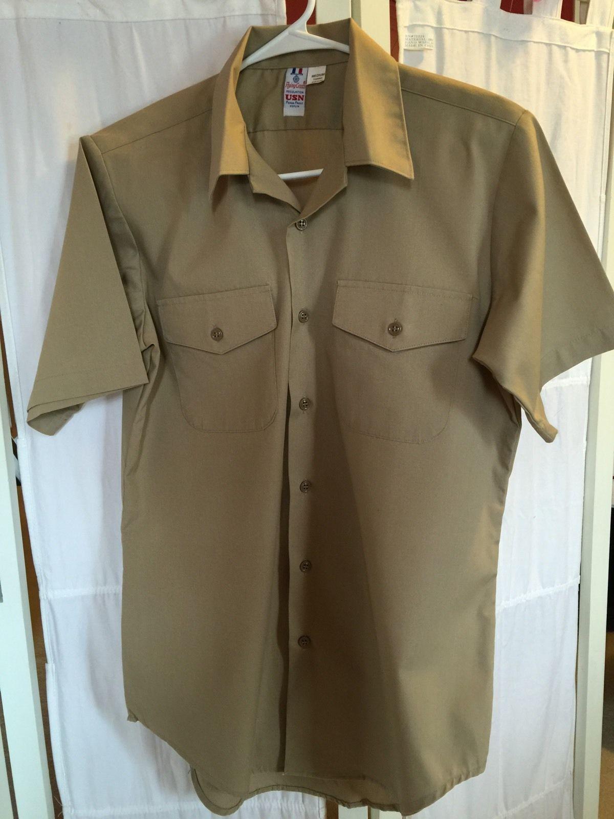 Navy Flying Cross Regulation USN Khaki Service Shirt