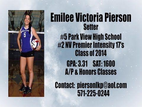 2012 Emilee Pierson Junior Year Volleyball Highlight Film Recruiting Tape Junior Year Pierson Sports Highlights