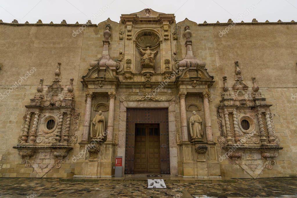Monastery Poblet Tarragona Spain - Stock Photo , #spon, #Tarragona, #Poblet, #Monastery, #Photo #AD